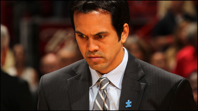 > Erik Spoelstra Wants Spurs FINED if AC Isn't Ready for Game 2 - Photo posted in BX SportsCenter | Sign in and leave a comment below!