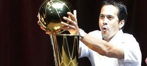 Miami NBA Playoffs Result In Larry O'Brien Trophy