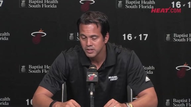 Media Day 2016: Erik Spoelstra (Part 4)