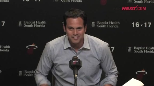 Exit Interview: Erik Spoelstra Part 1 (4/17/17)