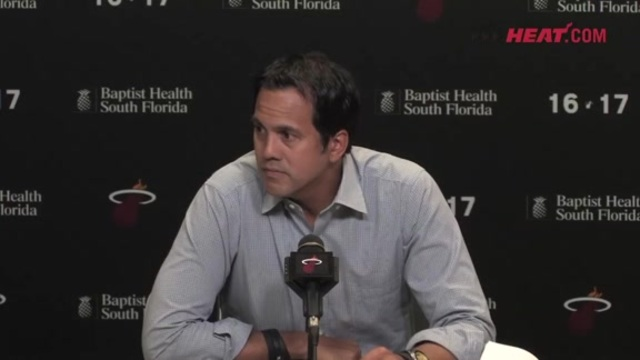 Exit Interview: Erik Spoelstra Part 3 (4/17/17)