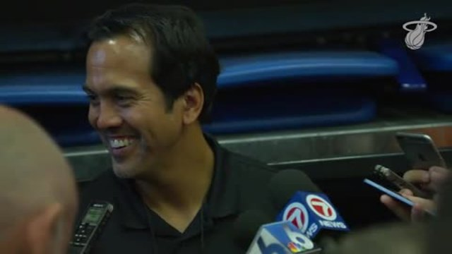 Training Camp Day 1: Erik Spoelstra