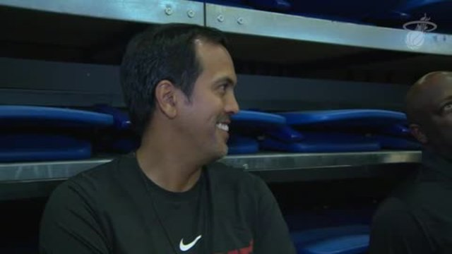 Training Camp Day 2: Erik Spoelstra
