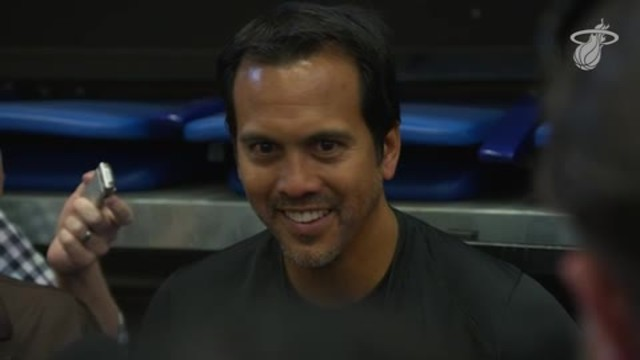 Training Camp Day 3: Erik Spoelstra
