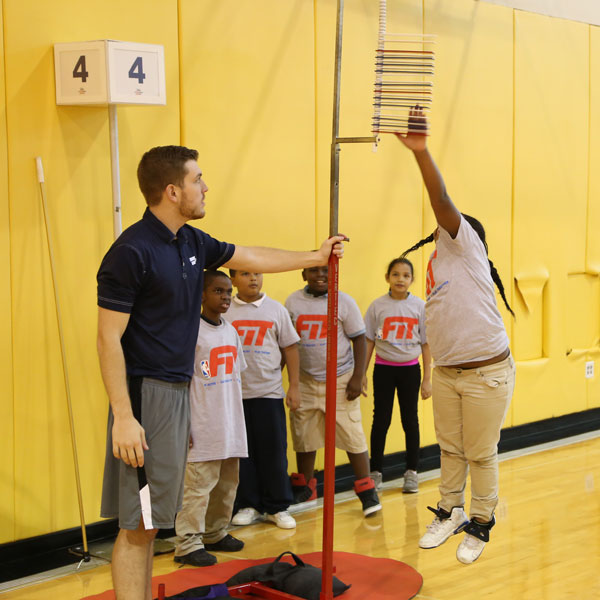 NBA Fit Youth Fitness Clinic presented by Baptist Health South