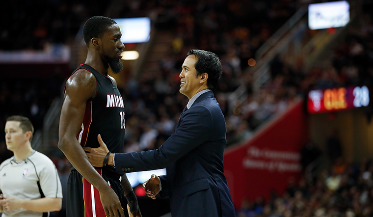 Spoelstra Named Co-Recipient of the NBCA Coach of the Year Award