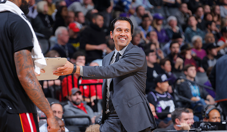 Spoelstra Named a Finalist for the 2017 NBA Coach of the Year Award